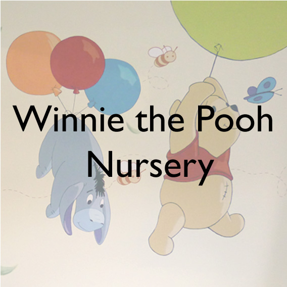 Classic children's characters from the Winnie the Pooh stories